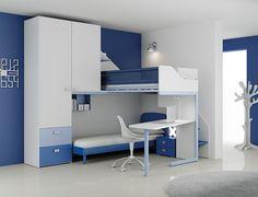 #Arredamento #Cameretta Moretti Compact: Catalogo Start Solutions 2013 >> LH15 http://www.moretticompact.it/start.htm