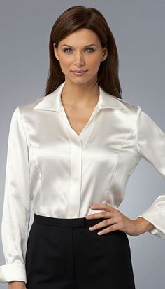 Pleated Skirt Outfit, Skirt Outfits, Pullover, Sweatshirt, Satin Blouses, White Blouses, Nights In White Satin, Office Outfits, Office Wear