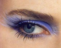 Lavender eye