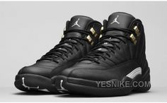 ac13096c0b4768 Cheap Air Jordan 12 XII The Master Poster Wing Blackout Anthracite Size 9