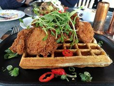 Why The Drake Devonshire Inn Should Be Your Next Brunch Getaway Places To Eat, Drake, Heavenly, Waffles, Brunch, Breakfast, Food, Morning Coffee, Essen