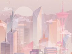 This is a part of a series of illustrations capturing scenes from my dreams, while mimicking colors and hues of the sky (especially during the sunset). In this series, I focused a lot on lighting, ...