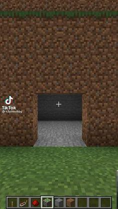 Project Minecraft, Craft Minecraft, Easy Minecraft Houses, Minecraft House Tutorials, Minecraft Room, Minecraft Plans, Minecraft Videos, Minecraft House Designs, Minecraft Construction
