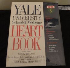 YALE University School of Medicine Heart Book by CoolCoolVintage, $12.00