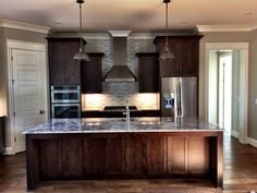 Recently completed home by David Weis and Meridian Construction. Modern kitchen design by Barber Cabinets.  #LouisvilleHomeBuilder #HomeBuildersLouisville #LouisvilleNewHomes #LouisvilleBuilders #Custom #HomeBuilderLouisville #LouisvilleCustomHomeBuilder #CustomHomeBuilder #CustomBuiltHomesLouisville #MeridianConstruction #NortonCommons #Homearama