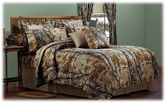 Bass Pro Shops® Realtree AP™ Camouflage Comforter Sets or Bedding Collection   Bass Pro Shops