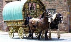 Gypsy caravan, Ireland