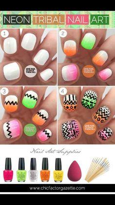 Cute nail designs for short nails.