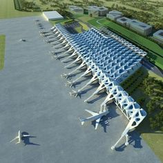 Zaha Hadid Architects has been appointed by the Mayor of London to help develop plans for a major new airport in the southeast of England.