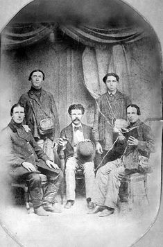 Peter Stecklein, Jacob Ritter, Nicholas Schamme, Peter Leiker, and Anton Wasinger, who came to the United States in 1874, to investigate lands in Ellis and Rush Counties for German-Russian settlements.
