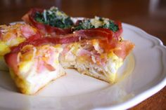 Bacon Egg and Biscuit Cups | Food is my friend