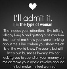 I'll admit it