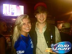 #BudLight Night at On the Rocks!! #Athens #AthensGA #Beer