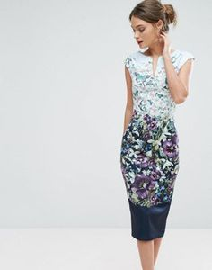 015a233ede798c Ted Baker Tiha Midi Dress at asos.com