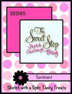 The Sweet Stop: SSS185-Sketch with a Spin and a Prize