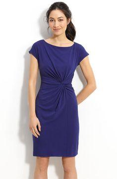 Donna Morgan Twist Front Jersey Sheath Dress  Nordstrom  $118.00