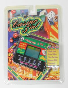 Casino 5 in 1 Handheld Electronic Game