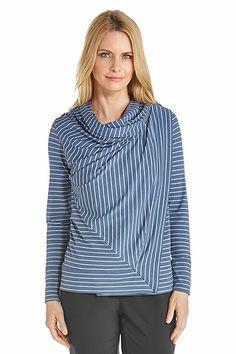 f03282ec97 Cowl Neck Wrap - Shop Our Sun Wraps for Women - Coolibar  Sun Protective  Clothing - Coolibar
