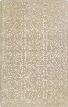 Nice Area Rug. Keep It Simple And Neutral. New Zealand Wool Rug In Beige And