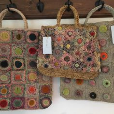 Sophie Digard Raffia bags