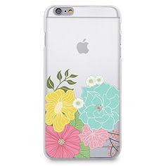 CasesByLorraine Floral Flower Matte Transparent Clear PC Case Hard Back Case Cover for iPhone 6 (P14) CasesByLorraine http://www.amazon.com/dp/B00UWXN4VW/ref=cm_sw_r_pi_dp_-OHevb1DGXFGH