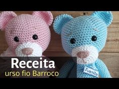 Crochet Bear, Crochet Toys, Amigurumi For Beginners, Amigurumi Tutorial, Crochet Bookmarks, Yarn Stash, Knitting Videos, Amigurumi Toys, Stuffed Toys Patterns