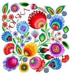 Polish folk print inspired by the traditional paper cut-outs of Kurpie (a region in central Poland) Polish Embroidery, Folk Embroidery, Embroidery Patterns, Bordado Popular, Ethno Design, Folk Print, Art Print, Polish Folk Art, Ukrainian Art