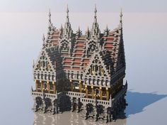 Medieval Mondays #4: Town Hall Minecraft Project