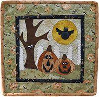 The Wooden Bear Quilt Designs October Jacks Kit from ShopFonsandPorter.com
