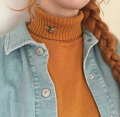 I don't know about style. I know about my personal style. Pastel Outfit, Orange Outfits, Winter Outfits, Red Hair Outfits, Orange Clothes, Look Fashion, Winter Fashion, Fashion Outfits, Art Hoe Fashion