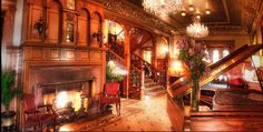 The Whitney Mansion in Detroit, Michigan
