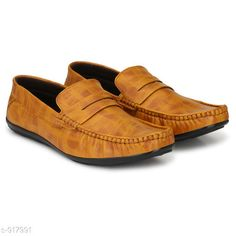 Casual Shoes Trendy Synthetic Men's Shoe Material: Outer- Synthetic  Sole Material- PVC UK/IND Size: 6 7 8 9 10 Euro Size: 39 40 41 42 43 Description: It Has 1 Pair Of Men's Shoe Pattern: Solid Country of Origin: India Sizes Available: IND-6, IND-7, IND-8, IND-9, IND-10   Catalog Rating: ★3.9 (398)  Catalog Name: Classy Mens Solid Loafers Vol 1 CatalogID_107947 C67-SC1235 Code: 974-917991-999