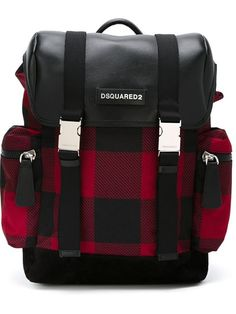 Shop Dsquared2 checked backpack in Vitkac from the world's best independent boutiques at farfetch.com. Shop 300 boutiques at one address.