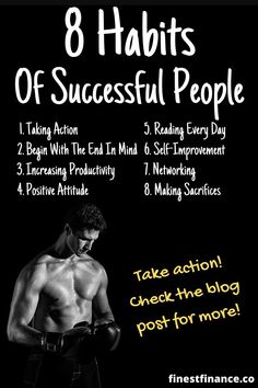 Did you know that successful people have a lot in common? Do you ever wonder what the habits of the successful are? Check out these 8 habits of successful people, and make your dreams a reality! Self Development Books, Personal Development, Habits Of Successful People, Change Your Mindset, Positive Attitude, Helping Others, Success Quotes, Personal Finance, Self Help
