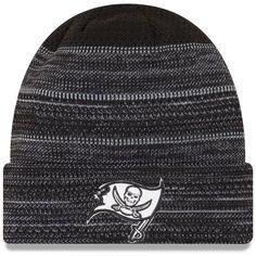 0b3edd12e43 Tampa Bay Buccaneers New Era 2017 Sideline Cold Weather TD Knit Hat -  Black White