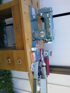 Sewing machine in wesanne's Garage Sale in corinth , NY for $300. VINTAGE MORSE BRAND DUOMATIC SEWING MACHINE, 1957, 1/15 HP 1.0 AMP AUTOMATIC AND ZIG ZAG, ATTACHED TO FULL SIZE SEWING TABLE WITH FOUR DRAWERS FULL OF ORIGINAL ACCESSORIES AND EXTRAS, FAR TOO MANY TO LIST, ALL WITH ORIGINAL OWNERS MANUALS AND PACKAGING. EXCELLENT CONDITION, MUST GO!!! PLEASE CALL [Phone Number removed] FOR MORE INFORMATION
