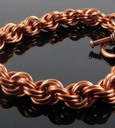 Top 5 Weaves for Chain Mail Beginners found at WireJewelry.com
