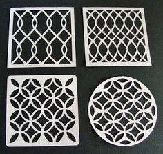 Free Silhouette Cut Patterns peoni patterns for stencils