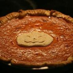 Pumpkin Pie I - Allrecipes.com