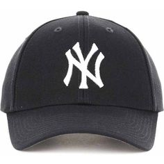 New York Yankees  47 MLB Curved  47 MVP Cap ❤ liked on Polyvore featuring  accessories 9ec4f131e8be