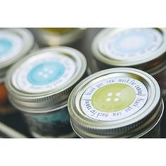 labels for cupcake in jars