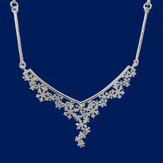 Ensilumi, First Snow, Necklace, Taigakoru, Finnish Jewelry Shop, February 2016