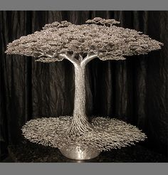Wire Tree Sculptures                                                                                                                                                                                 More