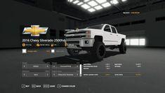 Chevy 2500hd, 2016 Chevy Silverado, Silverado 3500, Ps4 Mods, Diesel Pickup Trucks, Gta 5 Money, Can Am, Sims Mods, New Trucks