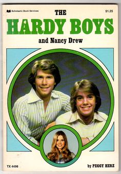 Hardy Boys and Nancy Drew TV Series Vintage 1970s Kids Book Softcover