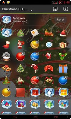 christmas SUPER HD theme android