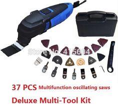 Deluxe Multi Tool Kit mulit-werkzeug installationssatz ,with 37 accessories Storage case.Ideas for DIY home renovation work!