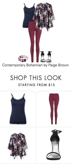 """Contemporary Bohemian by Paige Brown"" by paigebrownfash ❤ liked on Polyvore featuring Pure Collection, dVb Victoria Beckham, Dana Buchman and contemporary"
