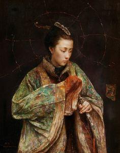 tang wei min paintings   Amerika Birleşik Devletleri ve Çin'de özel galerilerinde küçük ...