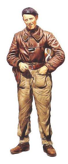 Il s'agit du Sergent Robert DUCHET-SUCHAUX, chef de char à la 2ème Cie du 2ème BCC en 1940.